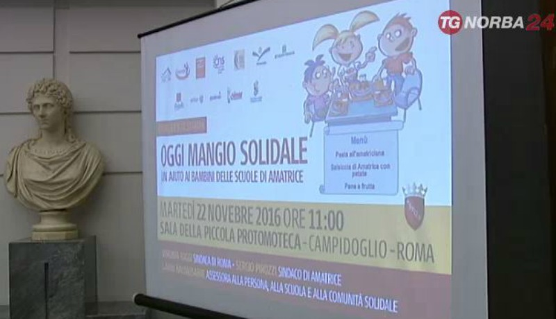 Oggi mangio solidale - video
